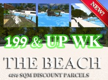 199 L$ WK - BEACH THEME 4096 SQM