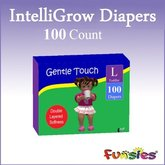 FUNSIES IntelliGrow - 100 Extra Absorbent Diapers v4.1