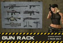 Gun Rack + Mac-10