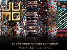.:JUMO:. Colored Sequin Textures