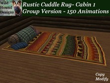 [WHD] -- Rustic Rug - Cabin 1  - Group Cuddle Version