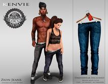 KENVIE . mesh . Nive Jeans Demo