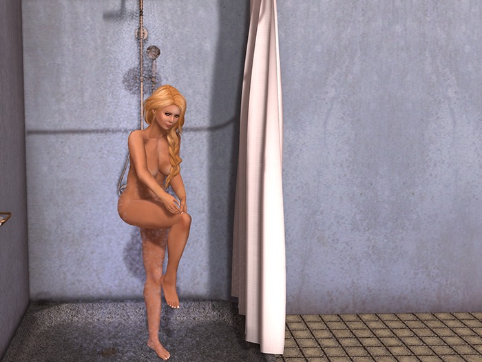 Dutchie mesh vintage copper shower pg with 14 single, 9 couple animations and 1 couple sequence