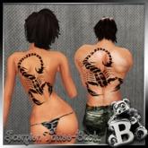 BABEY | Scorpion Tattoo-Back