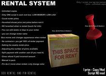 E - RENTAL SYSTEM