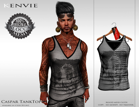 KENVIE . Caspar Tank Top - Demo