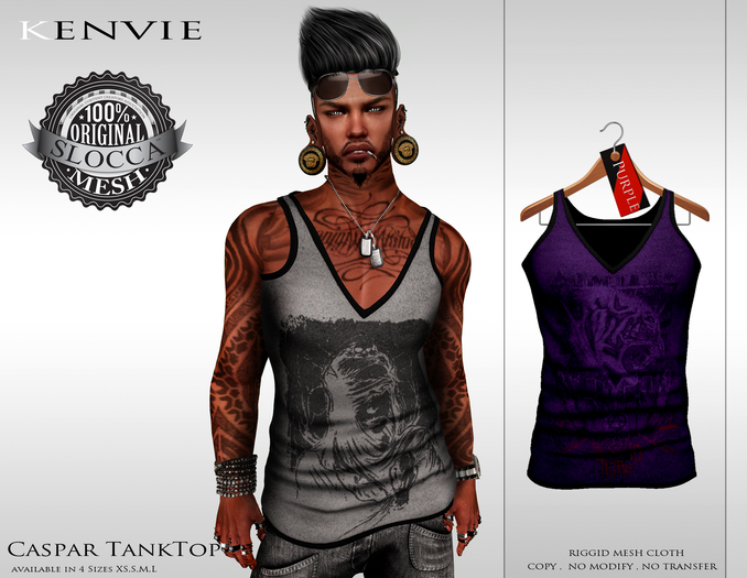 KENVIE . Summer TankTop Demo