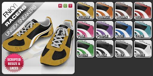 FNKY! Racers Sneakers (Pack)