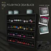 PILOT - Nail Polish Rack Deux [Black]