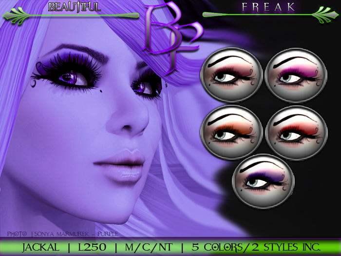 Beautiful Freak: Jackal eye makeup - boppr