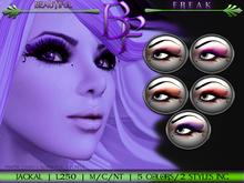 Beautiful Freak: Jackal eye makeup - boppr
