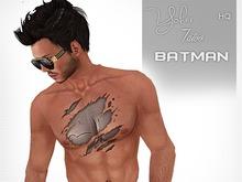 [Yohar] Batman tattoo