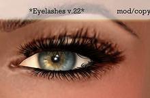 Koketka *Eyelashes v.22*