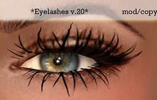Koketka *Eyelashes v.20*