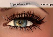 Koketka *Eyelashes v.19*