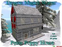 Dragon Magick Wares Petite Poppy House