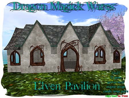 Dragon Magick Wares Outdoor Elven Pavilion Mesh