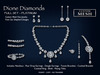 !SSD ~ Frills ~ Dione Platinum Diamonds Full Set