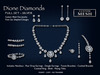 !SSD ~ Frills ~ Dione Silver Diamonds Full Set