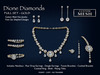 !SSD ~ Frills ~ Dione Gold Diamonds Full Set