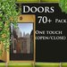 Big Door pack in sl (full permission) 70 plus door