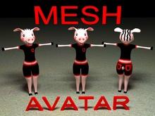 PIGGY-MESH-AVATAR