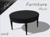 ::db furniture:: Table of song black and white