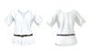 Womens shirt with belt 1