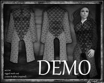 The Muses . Vale Coat . (womens) . DEMO