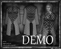 The Muses . Vale Coat . (mens) . DEMO