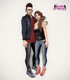 PURPLE POSES - Couple 249