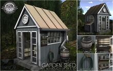 PILOT - Garden Shed Full Set
