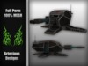 Anti-armoured car FULL PERM Mesh Artecious Designs