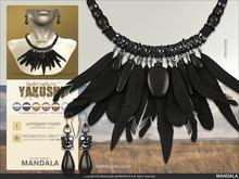 [MANDALA]YAKUSHI Jewelry set BLACK