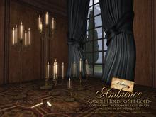 ~Libertine~ Ambience, Candle Holders Set