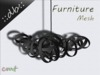 ::db furniture:: grey designer hanging lamp