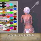 {Lemon Tea} Upright Demon Tail (Old product: reduced price)