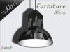 ::db furniture:: urban fabric hanging lamp