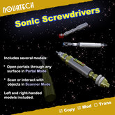 Sonic Screwdriver, Classic Bundle