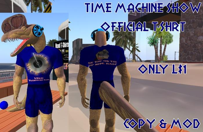 Time Machine Show Shirt (Boxed)