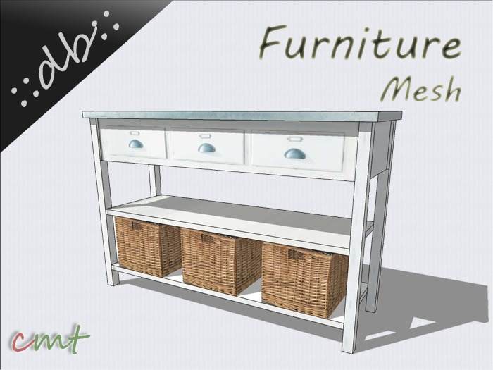 ::db furniture:: commode sorgue console