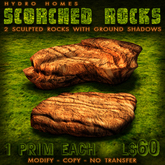 Hydro Homes - Scorched Rocks    landscaping stones rocks boulders
