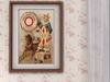 Dutchie mesh framed vintage poster Soda