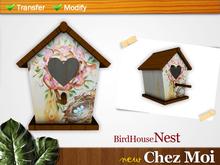 BirdHouse Nest ♥ CHEZ MOI