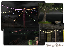 New!!! Outdoor String Lights Mesh Set