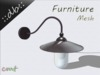 ::db furniture:: Outside hanging lamp