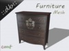 ::db furniture:: Commode KINGDOM