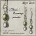 Silent Woods, 'Jheris' Earrings -pistachio-