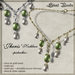 Silent Woods, 'Jheris' Necklace -pistachio-