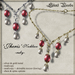 Silent Woods, 'Jheris' Necklace -ruby-
